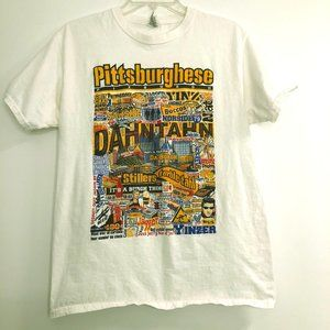 "Vintage Pittsburgh ""Pittsburghese"" Funny T-shirt"
